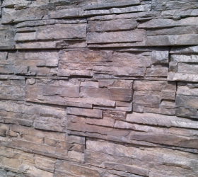 Product code: Ez Fit Chocolate  Brown Stone Cladding