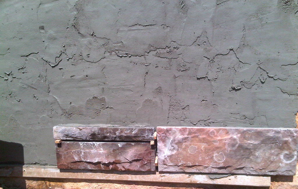 Stone Cladding Installation