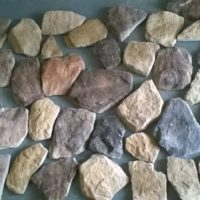 Split Face Stone - R275 per sq M